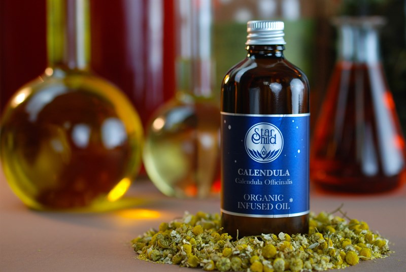 Calendula Infused Oil Organic By Star Child Glastonbury