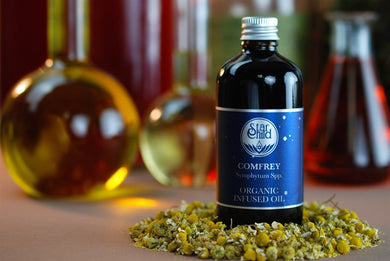 Comfrey Infused Oil Organic By Star Child Glastonbury