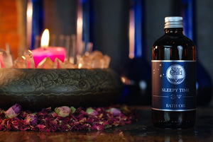 Sleepy Time Bath Oil By Star Child Glastonbury