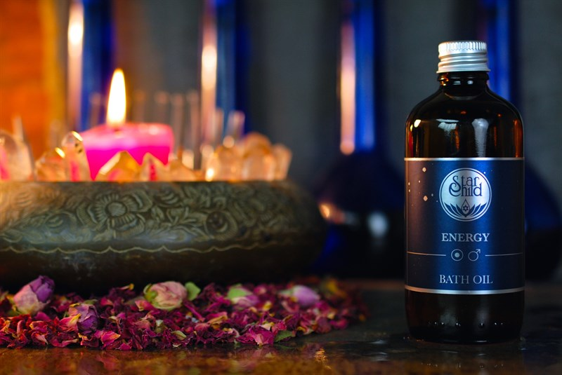 Energy Bath Oil By Star Child Glastonbury