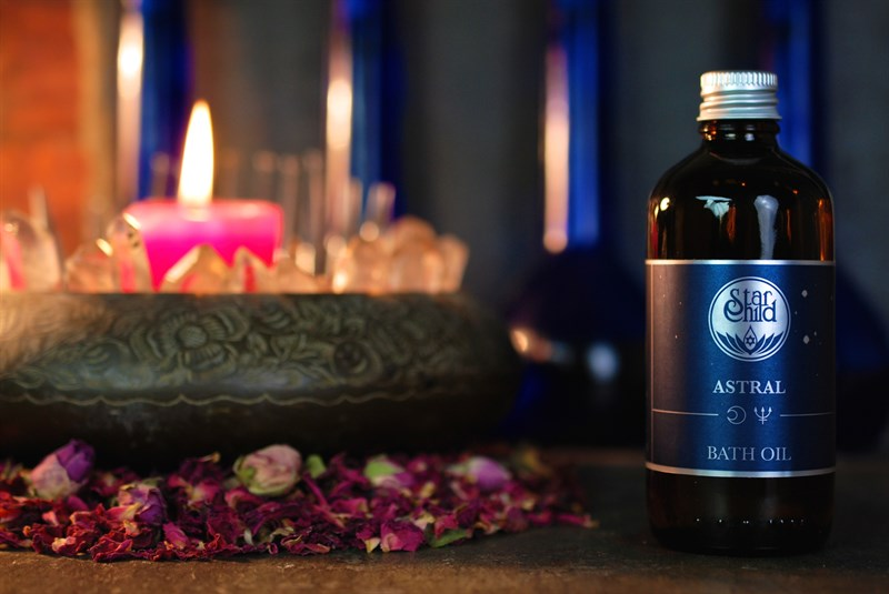 Astral Bath Oil By Star Child Glastonbury