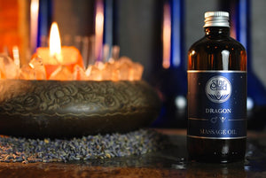 Dragon Massage Oil By Star Child Glastonbury