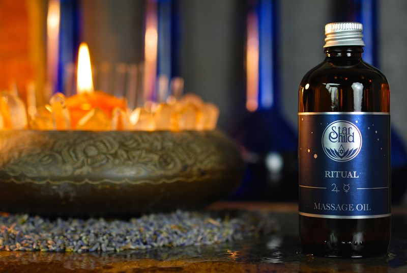 Ritual Massage Oil By Star Child Glastonbury