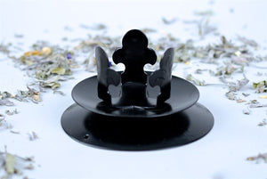 Gothic 50Mm Candle Holder By Star Child Glastonbury