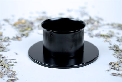 Sturdy 75Mm Candle Holder By Star Child Glastonbury
