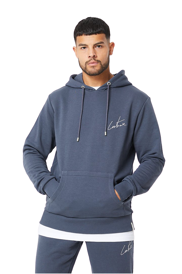 The Couture Club Essential Hoodie Dark Blue