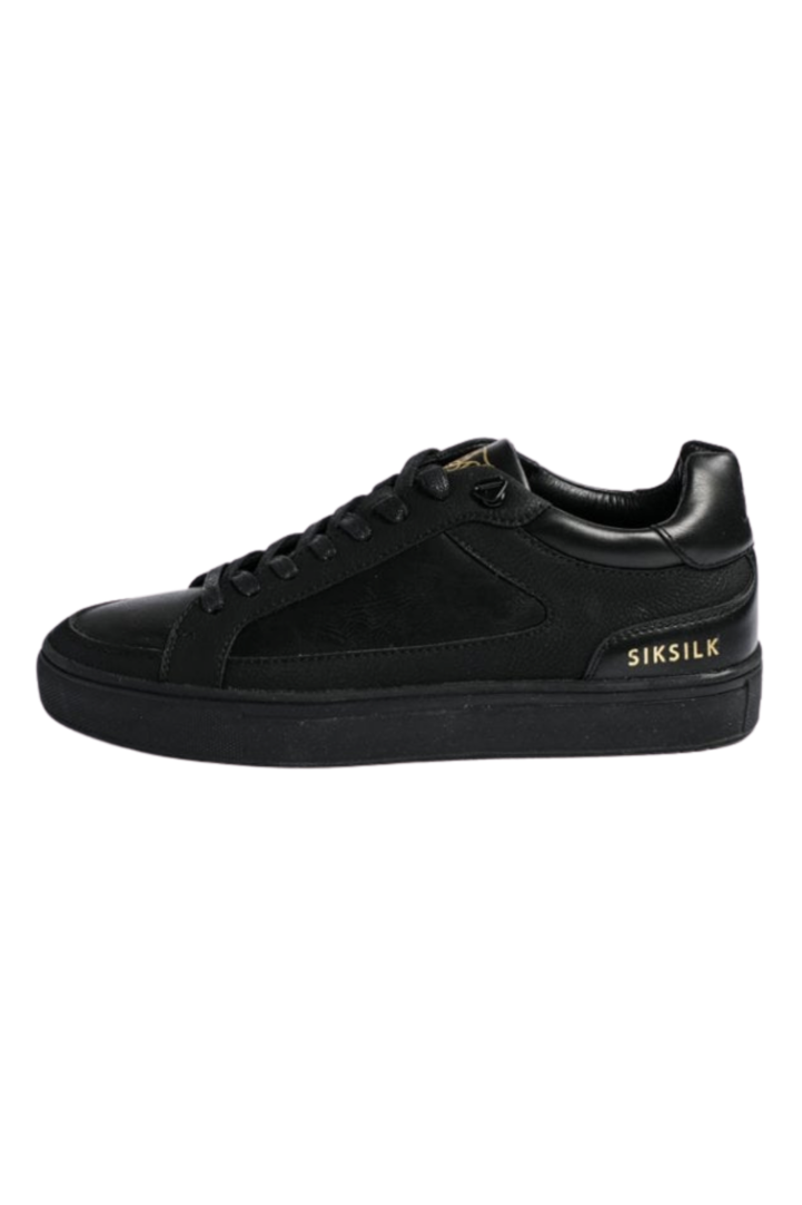 SikSilk  Ghost Black Shoes