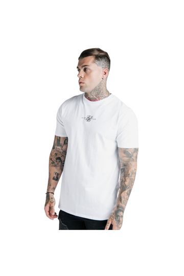SikSilk S/S Basic Core Tee – White