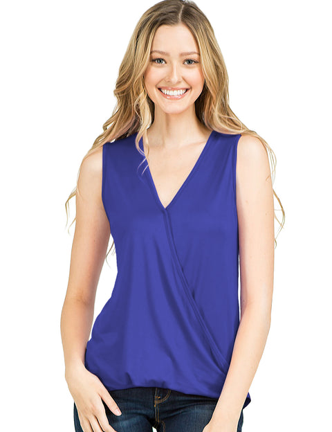 Surplice Neckline Stylish Top