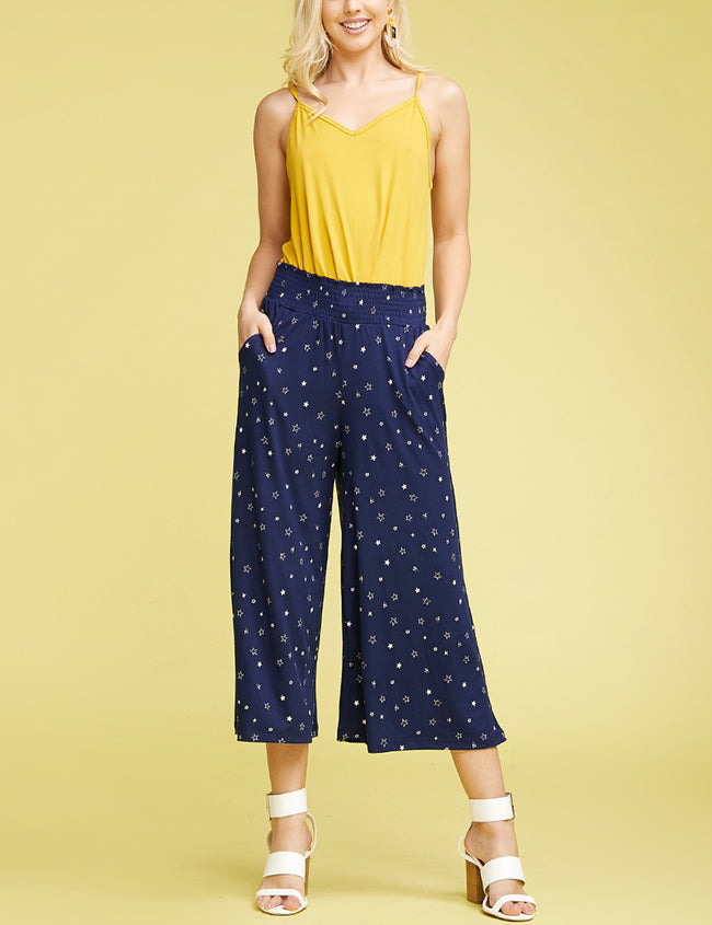 Clam Digger Bell Bottoms Comfortable Pants
