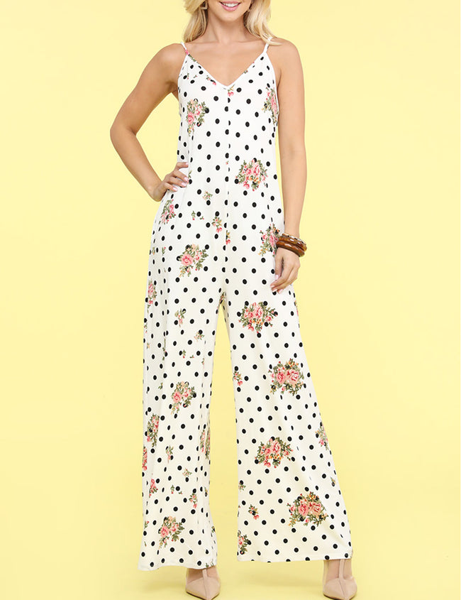Camisole Strap Loose Fitting Jumpsuit