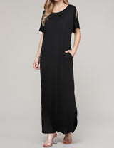 Loose Fitting Comfortable Maxi Dress