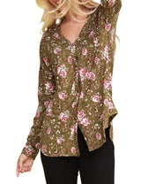 LONG SLEEVE TIE FRONT CARDIGAN