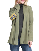 OLIVE | CWOCAL105 Open Front Cardigan