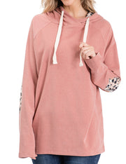 Loose Fitting Casual Hoodie