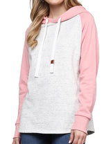 RAGLAN HOODIE WITH SIDE POCKET