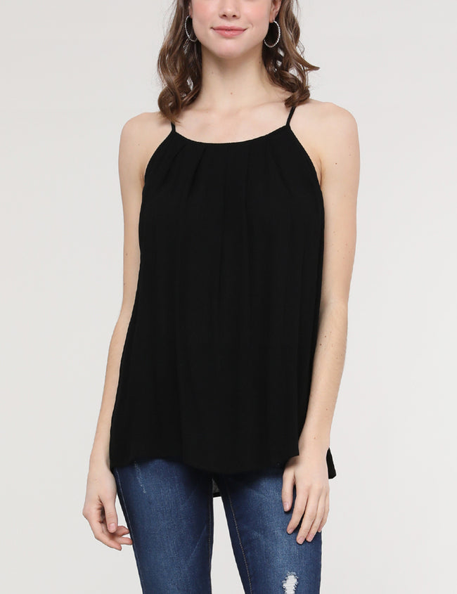 Camisole Neckline Loose Fitting Light Top