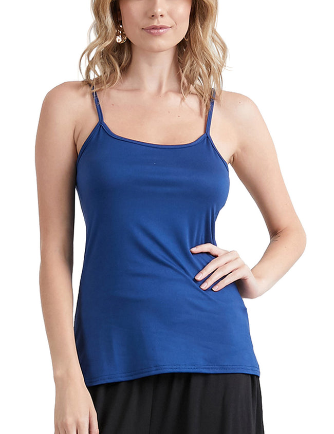 Camisole Neckline Tight Fitting Comfortable Tank Top