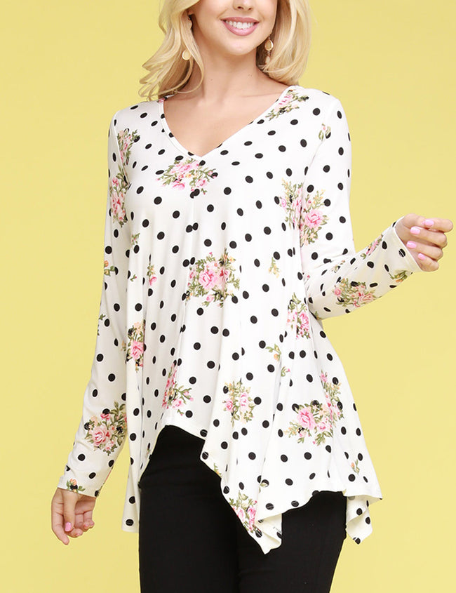 Decollete Neckline Lovely Top
