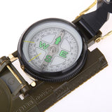 Army Green Foldable Compass