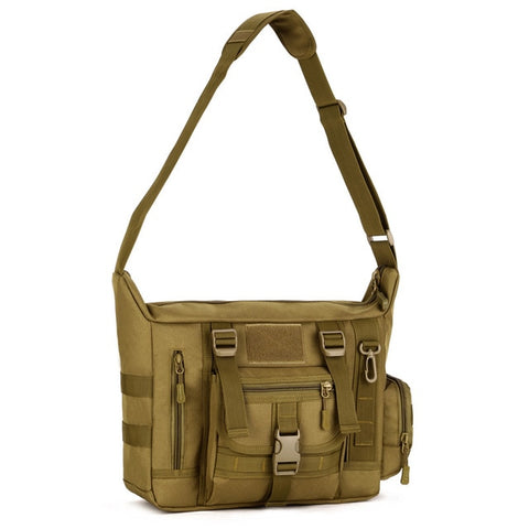 Waterproof 14'' Tactical Crossbody Bag