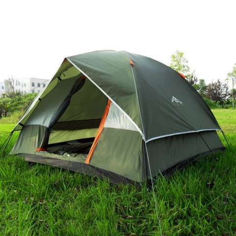 Dual Layer Travel Tent for 3-4 Person