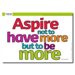 Aspire poster