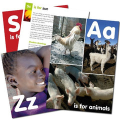 Global A-Z photo pack for EYFS