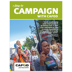 How to campaign with CAFOD