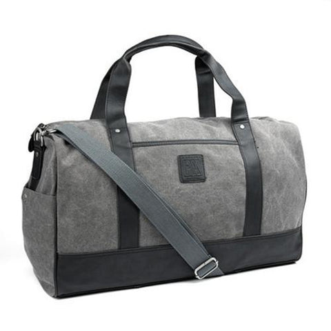 Simon Canvas Duffle Bag - Riche Prince