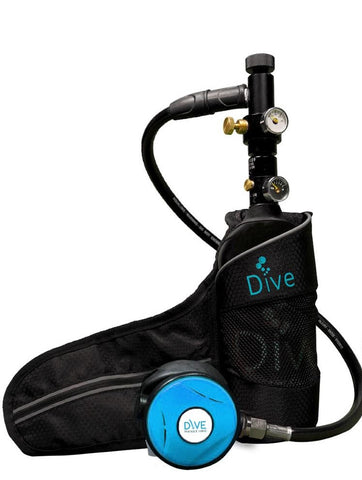 Dive Portable Lungs Tank - No Hand Pump Package