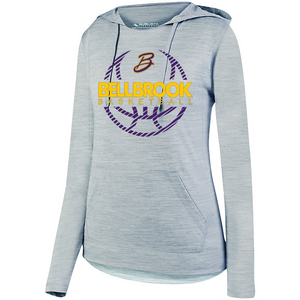 BHS Bellbrook Basketball Ladies Tonal Hoodie