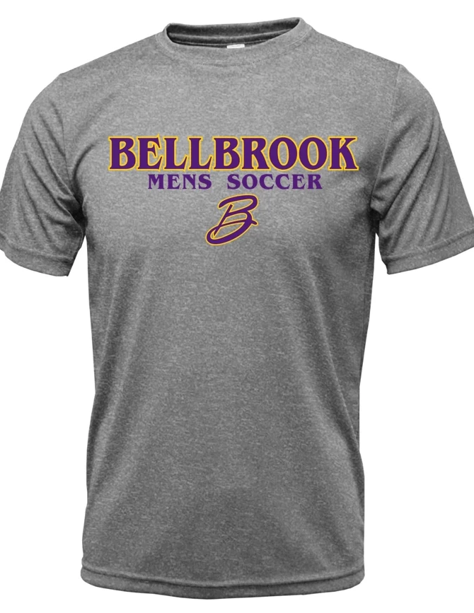 BHS Mens Soccer Dri Fit Short Sleeve Shirt