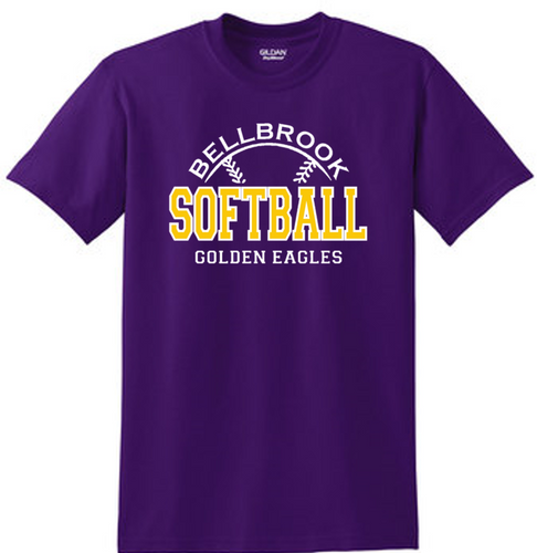 Bellbrook Softball Purple T-Shirt