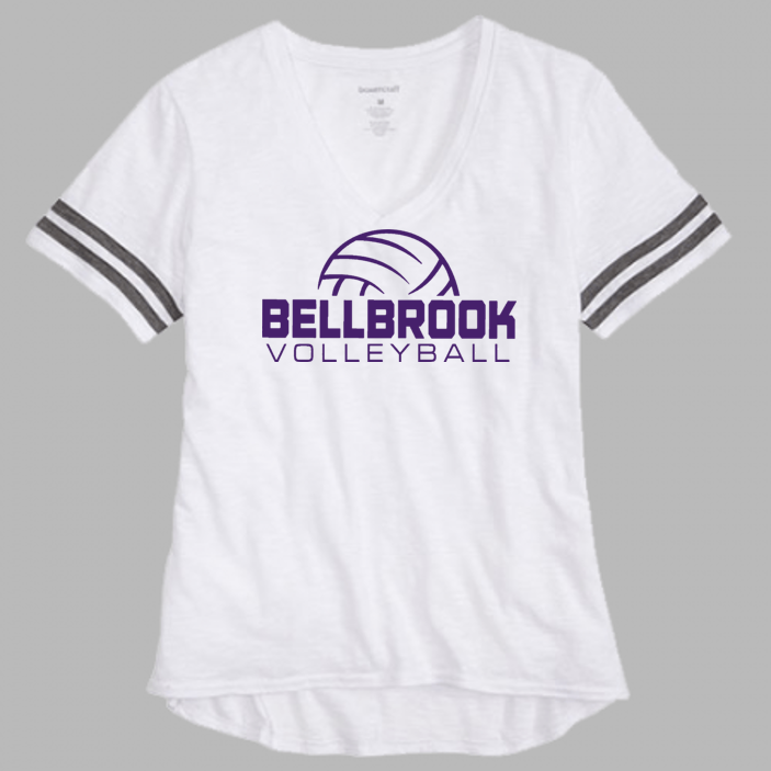 BHS Volleyball Ladies Ace Slub Tee