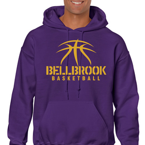 Spirit Wear - BMS Basketball Adult Hooded Sweatshirt