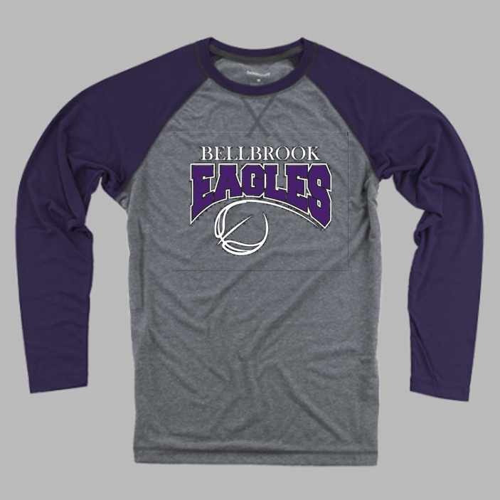 Wee Eagles Bellbrook Eagles (Basketball) Purple Double Play Shirt