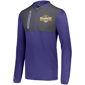 Wee Eagles Bellbrook Basketball Embroidered Hybrid Pullover