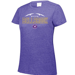BHS Women's Soccer Ladies Cut Tri-Blend Shirt