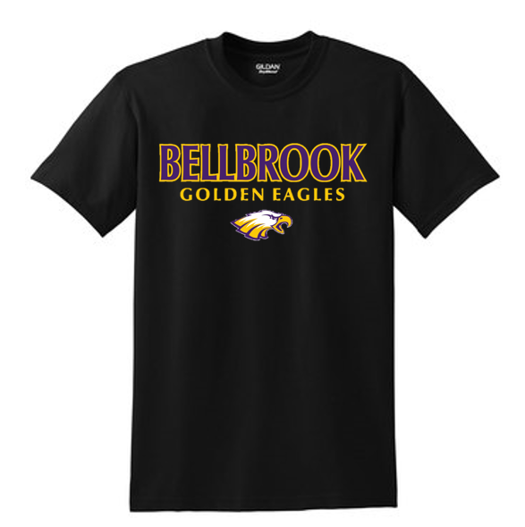 Bellbrook Golden Eagles Black T-Shirt