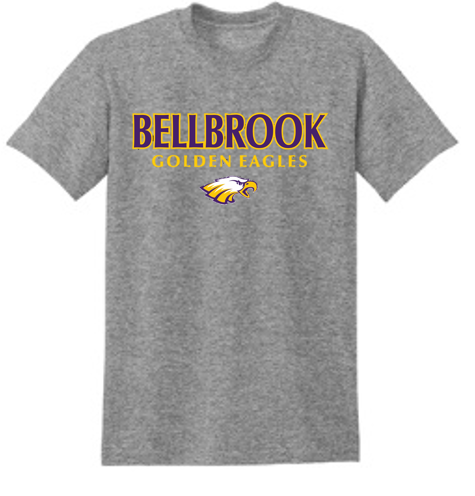 Bellbrook Golden Eagles Graphite Heather T-Shirt