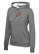 BMS SOFTBALL PLAYER PREMIER HOODIE with LAST NAME on back - Ladies Cut