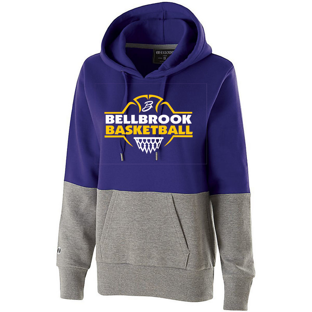 Wee Eagles Bellbrook Basketball Ladies Purple Ration Hoodie