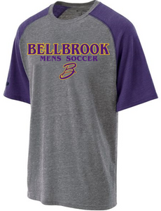 BHS Mens Soccer Adult Vintage Heather Tri-Blend Shirt