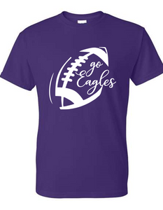 "Wee Eagles ""Bellbrook Basketball"" Black T-Shirt"