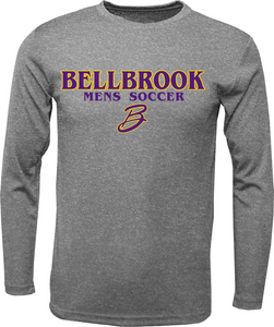 BHS Mens Soccer Dri Fit Long Sleeve Sleeve Shirt