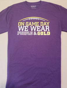 Game Day Purple & Gold T-Shirt