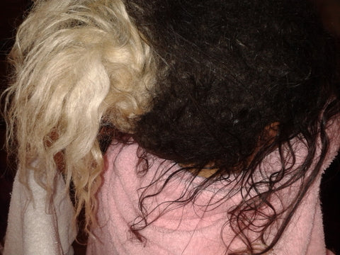 matted pony tail