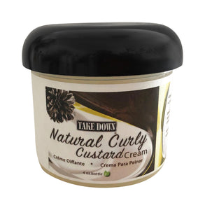 Take Down Natural Curly Custard Cream