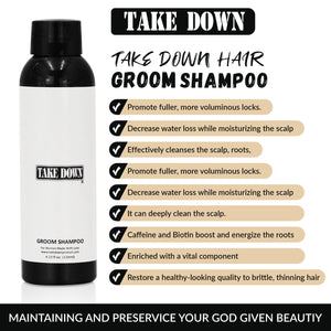 Take Down Hair Groom Shampoo